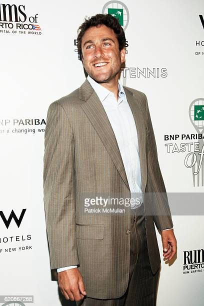 Justin Gimelstob attends 9th Annual BNP Paribas TASTE OF TENNIS at W New York Hotel on August 21 2008 in New York City