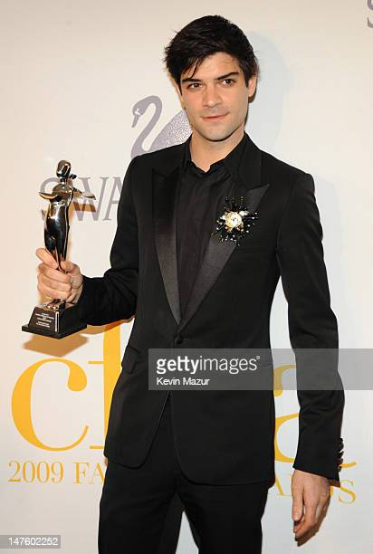 Justin Giunta for Subversive attends the 2009 CFDA Fashion Awards at Alice Tully Hall, Lincoln Center on June 15, 2009 in New York City.