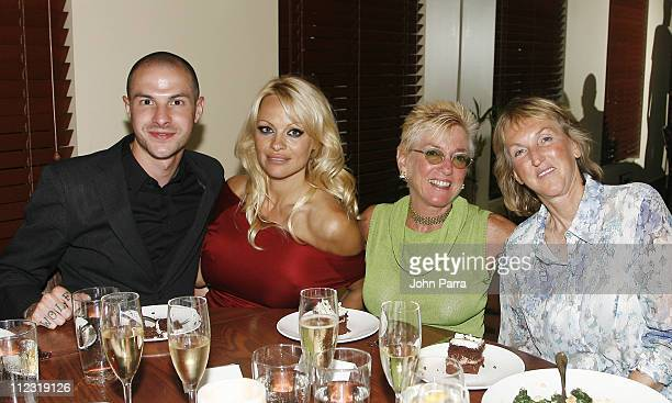 Justin Goodman Pamela Anderson Nanci Alexander and PETA President Ingrid E Newkirk *Exclusive Coverage*