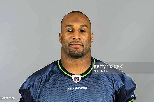 Justin Griffith of the Seattle Seahawks poses for his 2009 NFL headshot at photo day in Seattle Washington