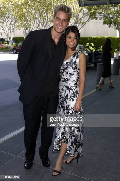 Justin Hartley and Lindsay Korman during 30th Annual Daytime Emmy Awards Creative Arts Presentation at Universal Sheraton in Universal City...