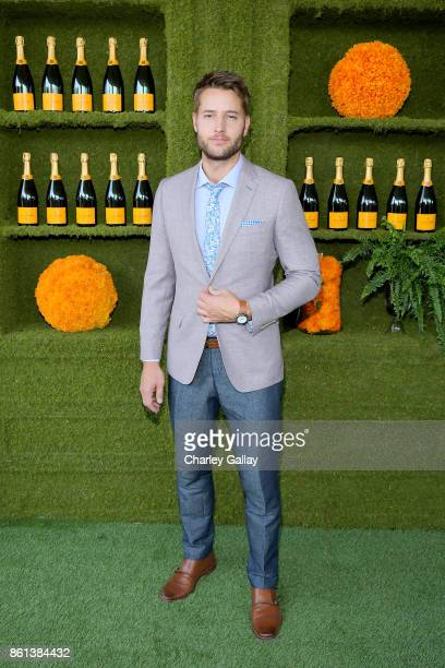 Justin Hartley at the Eighth Annual Veuve Clicquot Polo Classic on October 14 2017 in Los Angeles California