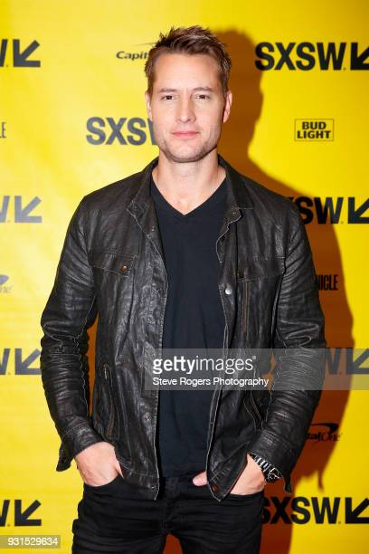 Justin Hartley attends Featured Session The Cast of 'This Is Us' during SXSW at Austin Convention Center on March 13 2018 in Austin Texas