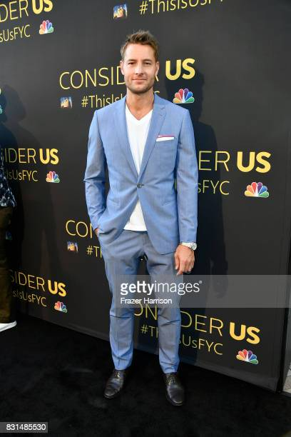 Justin Hartley attends FYC Panel Event For 20th Century Fox And NBC's 'This Is Us' at Paramount Studios on August 14 2017 in Hollywood California