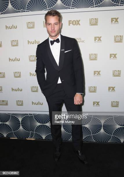 Justin Hartley attends Hulu's 2018 Golden Globes After Party at The Beverly Hilton Hotel on January 7 2018 in Beverly Hills California