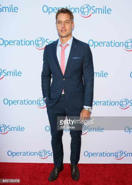 Justin Hartley attends Operation Smile's Annual Smile Gala on September 9 2017 in Santa Monica California