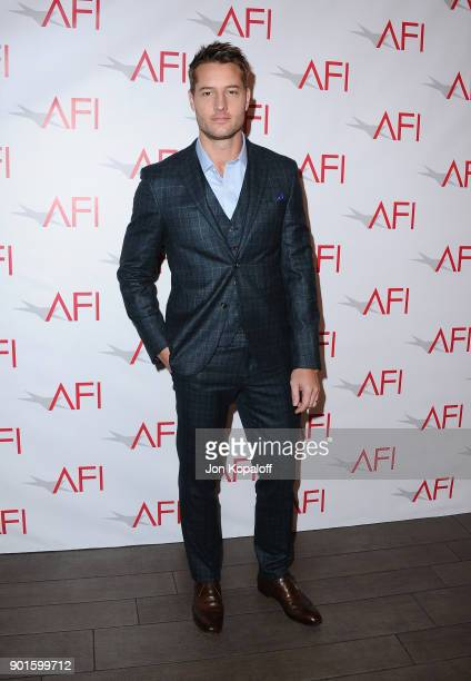 Justin Hartley attends the 18th Annual AFI Awards at Four Seasons Hotel Los Angeles at Beverly Hills on January 5 2018 in Los Angeles California