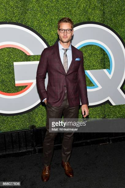 Justin Hartley attends the 2017 GQ Men of the Year party at Chateau Marmont on December 7 2017 in Los Angeles California