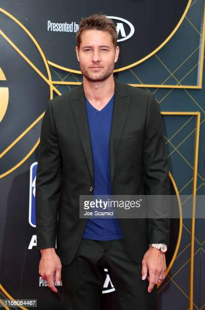 Justin Hartley attends the 2019 NBA Awards presented by Kia on TNT at Barker Hangar on June 24, 2019 in Santa Monica, California.