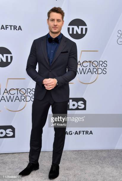 Justin Hartley attends the 25th Annual Screen ActorsGuild Awards at The Shrine Auditorium on January 27 2019 in Los Angeles California