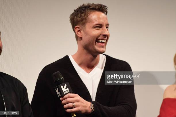 Justin Hartley attends the 'This is Us' Premiere 2018 SXSW Conference and Festivals at Paramount Theatre on March 12 2018 in Austin Texas