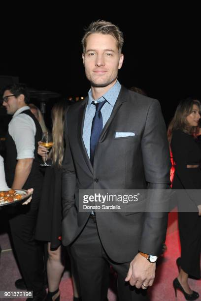 Justin Hartley attends W Magazine's Celebration of its 'Best Performances' Portfolio and the Golden Globes with Audi Dior and Dom Perignon at Chateau...