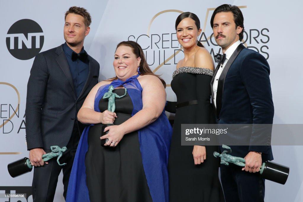 25th Annual Screen ActorsGuild Awards - Press Room : News Photo