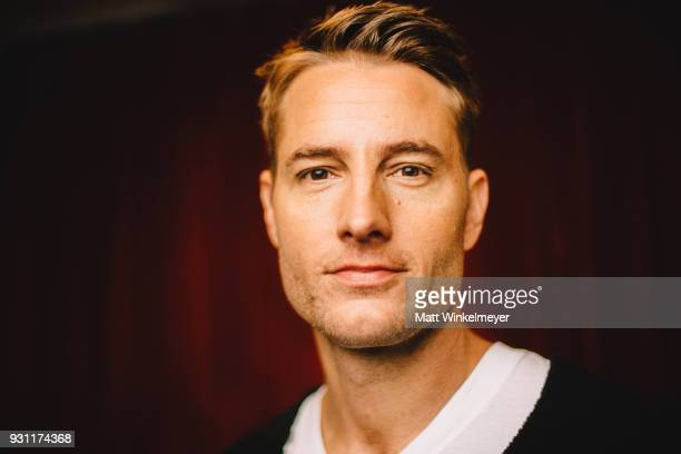 Justin Hartley poses for a portrait at the 'This is Us' Premiere 2018 SXSW Conference and Festivals at Paramount Theatre on March 12 2018 in Austin...