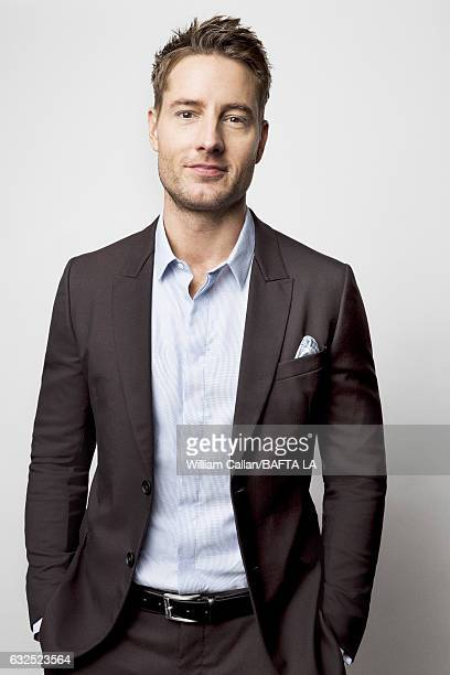 Justin Hartley poses for a portraits at the BAFTA Tea Party at Four Seasons Hotel Los Angeles at Beverly Hills on January 7 2017 in Los Angeles...
