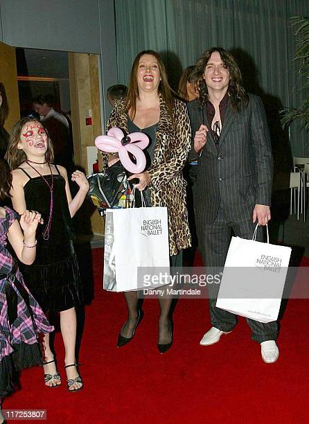 Justin Hawkins during English National Ballet Celebrity Party December 11 2006 at St Martins Lane Hotel in London Great Britain
