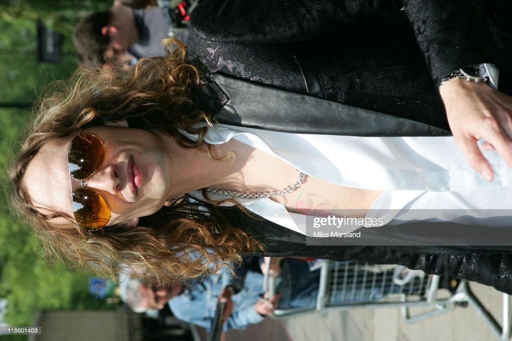 Justin Hawkins of The Darkness during 49th Ivor Novello Awards - Arrivals at Grosvenor House in London, Great Britain.