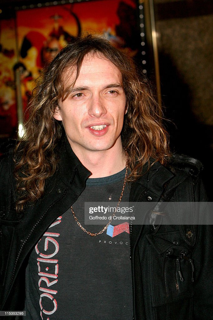 Justin Hawkins of The Darkness during 'The Incredibles' London Premiere at Empire Leicester Square in London, United Kingdom.