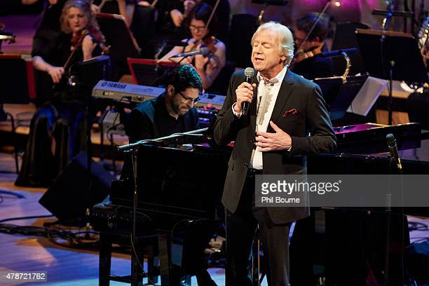 Justin Hayward performs at the Burt Bacharach A Life In Song concert at the Royal Festival Hall on June 26 2015 in London United Kingdom