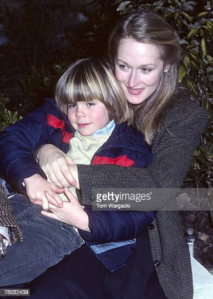 Justin Henry and Meryl Streep attend a photocall for film Kramer vs Kramer on March 11 2007 in London Great Britain