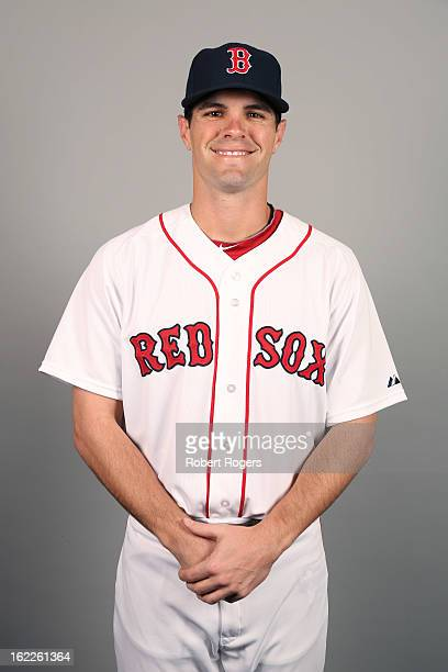 Justin Henry of the Boston Red Sox poses during Photo Day on February 17 2013 at JetBlue Park in Fort Myers Florida