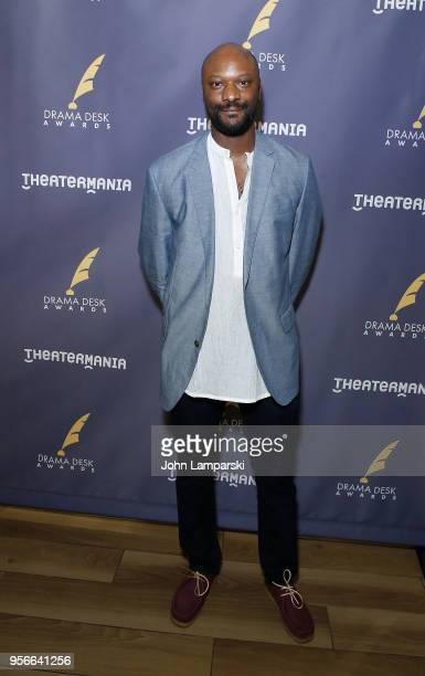 Justin Hicks attends 63rd Annual Drama Desk Awards nominees reception at Friedmans in the Edison Hotel on May 9 2018 in New York City