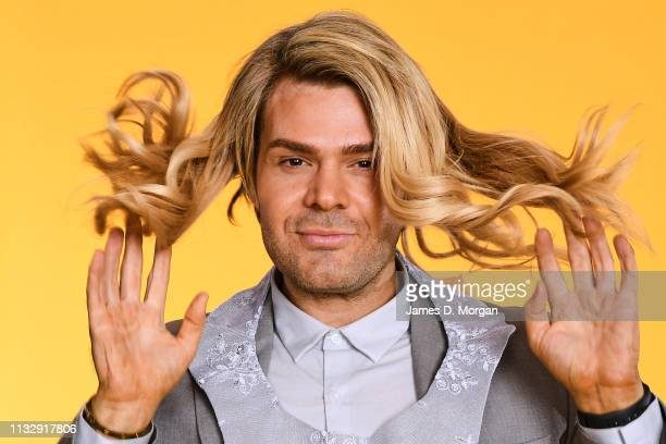 Justin Hill poses for a portrait at the 2019 Australian LGBTI Awards at The Star on March 01 2019 in Sydney Australia