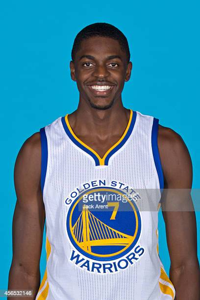 Justin Holiday of the Golden State Warriors poses for a photo during Media Day on September 29 2014 at the Warriors practice facility in Oakland...