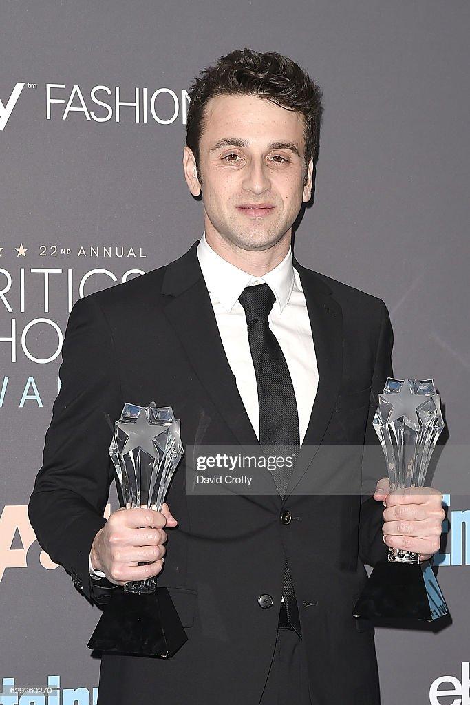 22nd Annual Critics' Choice Awards - Press Room : Nachrichtenfoto
