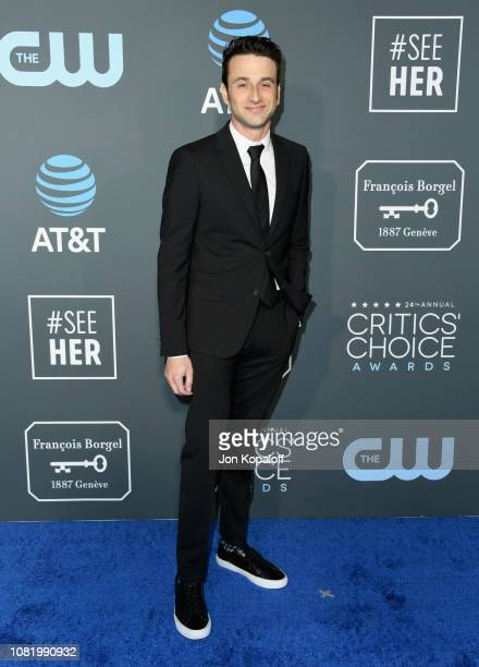 Justin Hurwitz attends the 24th annual Critics' Choice Awards at Barker Hangar on January 13 2019 in Santa Monica California