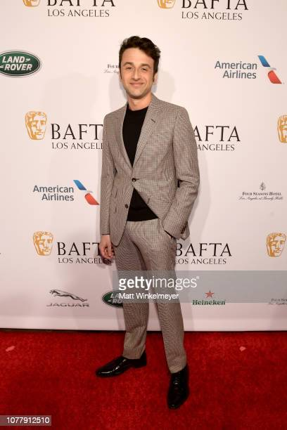 Justin Hurwitz attends The BAFTA Los Angeles Tea Party at Four Seasons Hotel Los Angeles at Beverly Hills on January 5 2019 in Los Angeles California