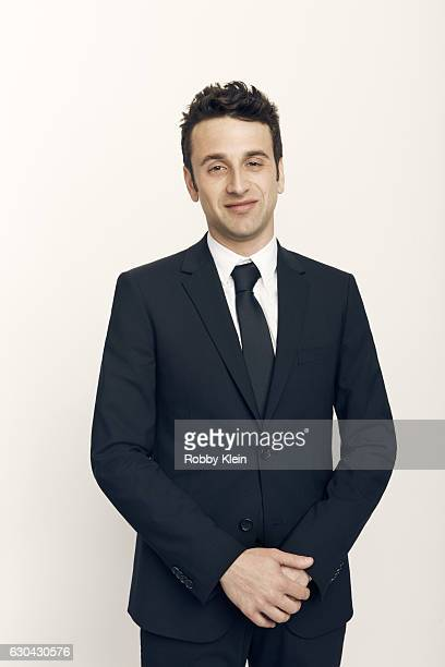 Justin Hurwitz pose for a portrait during the 2016 Critics Choice Awards on December 11 2016 in Santa Monica California
