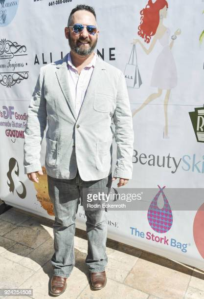 Justin Jacaruso attends BRAVO'S Stripped TV Personality and Celebrity Fashion Stylist Expert Ali Levine's Pink Carpet Baby Shower at Rockwell Table...