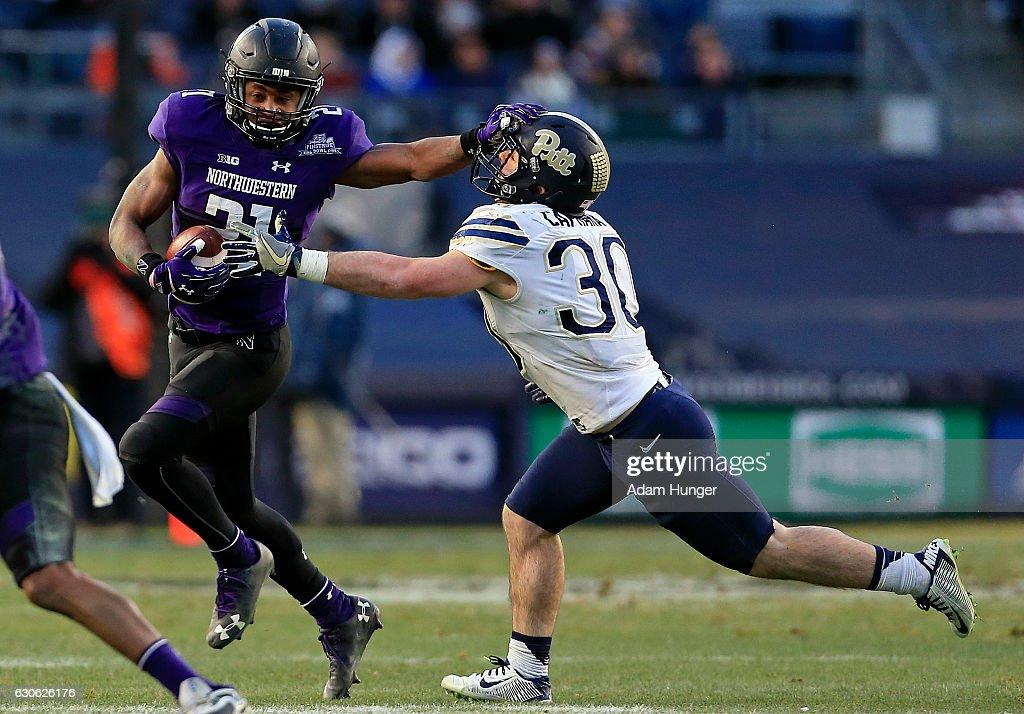 New Era Pinstripe Bowl - Northwestern v Pittsburgh : News Photo