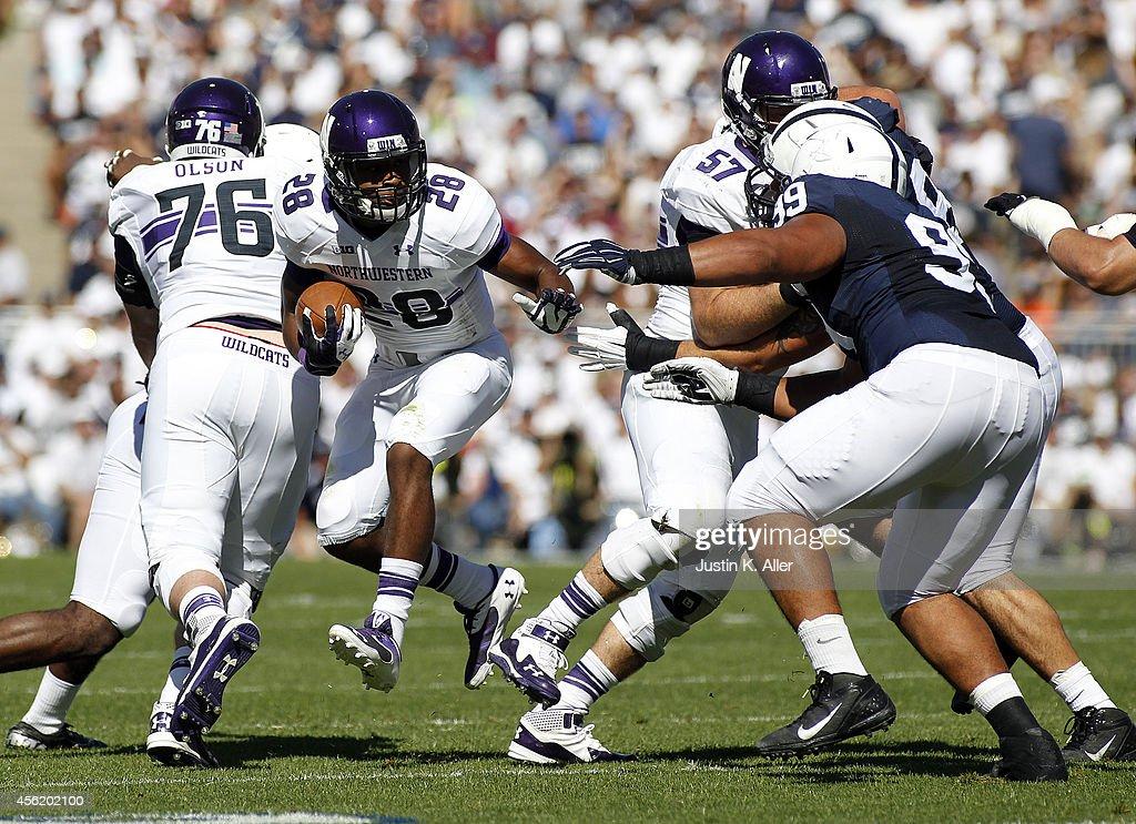 Northwestern v Penn State : News Photo