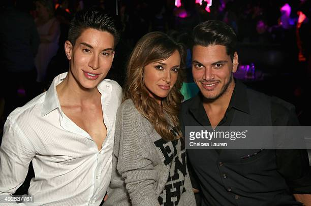 Justin Jedlica and guests attend OK Magazine's So Sexy LA Event at LURE on May 21 2014 in Los Angeles California