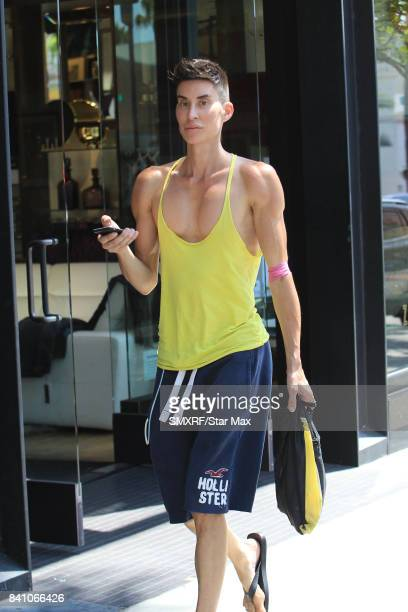 Justin Jedlica is seen on August 30 2017 in Los Angeles California