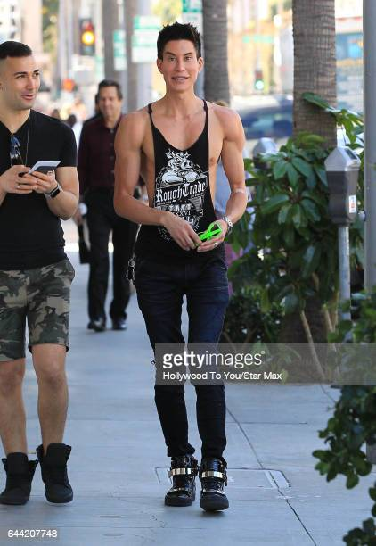Justin Jedlica is seen on February 22 2017 in Los Angeles CA