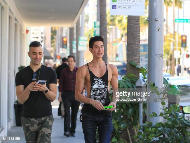 Justin Jedlica is seen on February 22 2017 in Los Angeles California