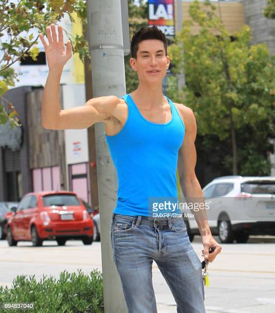 Justin Jedlica is seen on June 10 2017 in Los Angeles California