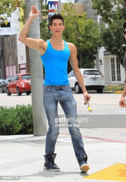 Justin Jedlica is seen on June 10 2017 in Los Angeles California