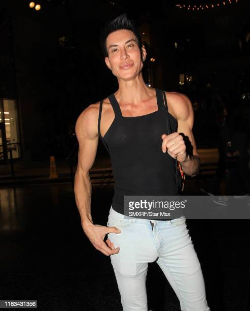Justin Jedlica is seen on November 18 2019 in Los Angeles California