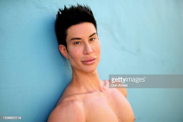 Justin Jedlica poses for portraits in Surry Hills on March 01 2020 in Sydney Australia
