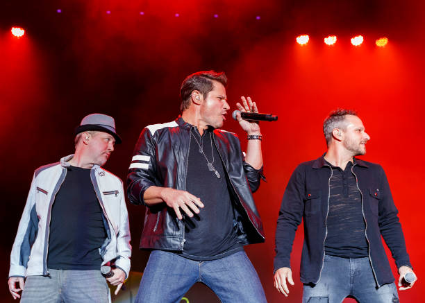 CAN: 98 Degrees Performs At PNE Amphitheatre