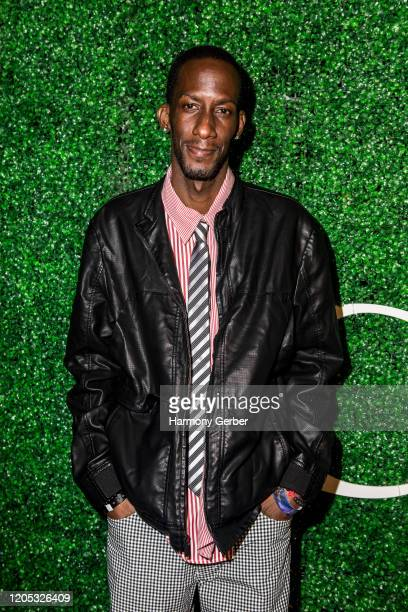 Justin Johnson attends the 3rd Annual Griot Gala Oscars After Party 2020 Hosted By Michael K. Williams at Ocean Prime on February 09, 2020 in Beverly...