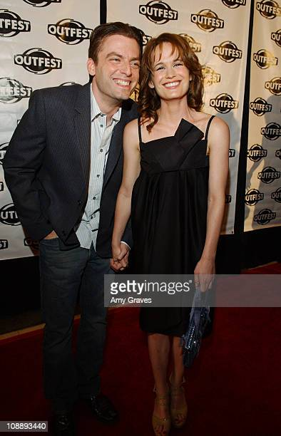 Justin Kirk and Elizabeth Reaser during 2006 Outfest Film Festival Opening Night Gala Screening of Puccini for Beginners at Orpheum Theatre in Los...