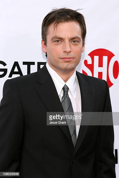 Justin Kirk during Weeds Season Two Premiere Arrivals at The Egyptian Theatre in Hollywood California United States