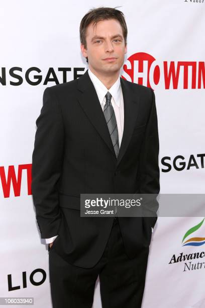 Justin Kirk during 'Weeds' Season Two Premiere Arrivals at The Egyptian Theatre in Hollywood California United States