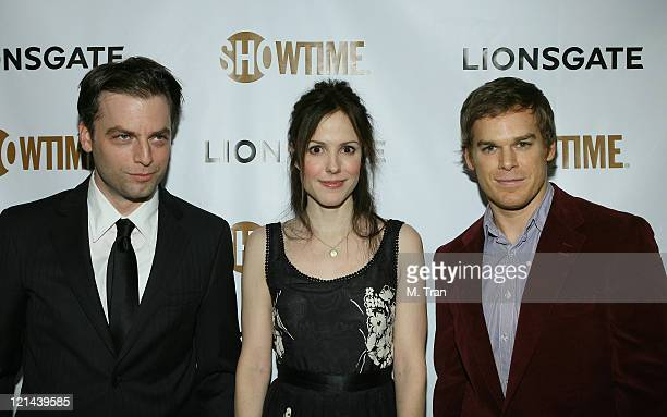 Justin Kirk MaryLouise Parker and Michael C Hall