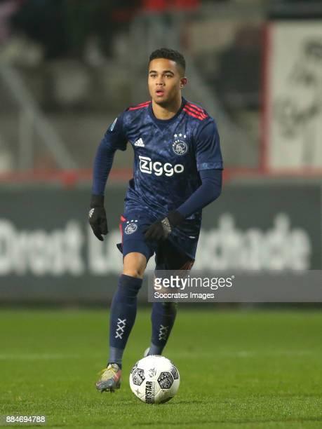 Justin Kluivert of Ajax during the Dutch Eredivisie match between Fc Twente v Ajax at the De Grolsch Veste on December 2 2017 in Enschede Netherlands